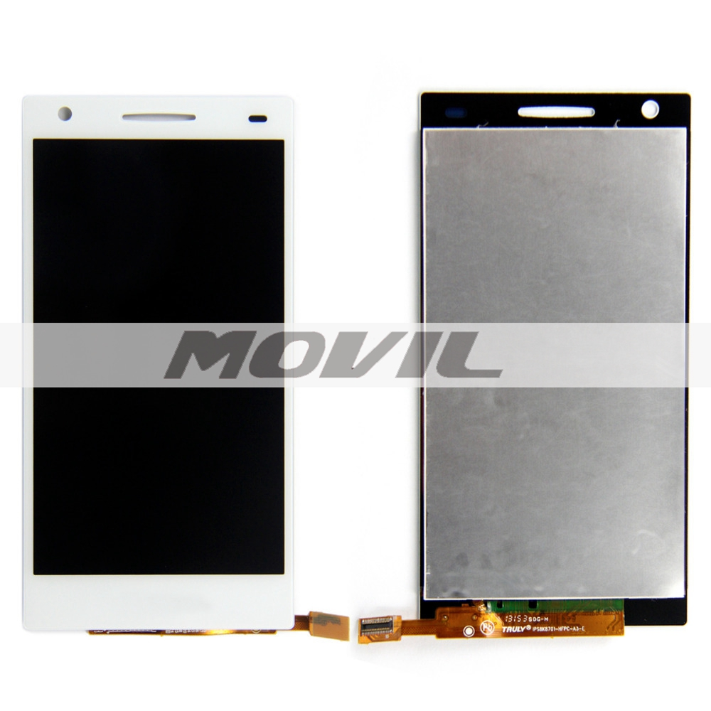 4.5 Inch LCD Display Screen +Touch Digitizer Assembly Replacement For OPPO U705T U705W White