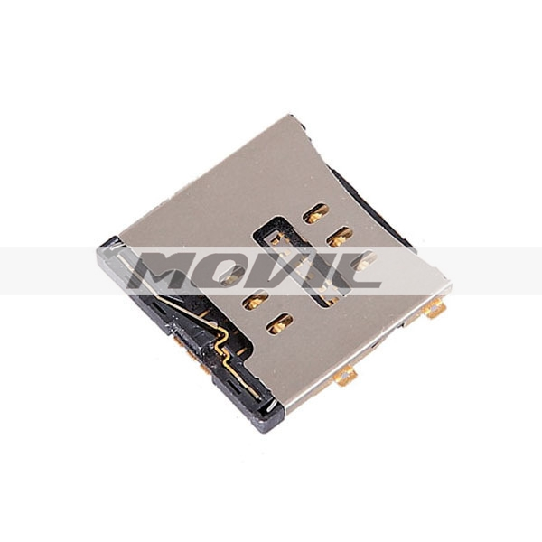 4G Sim Card Connector Reader Tray Socket for iPhone 4 Replacement