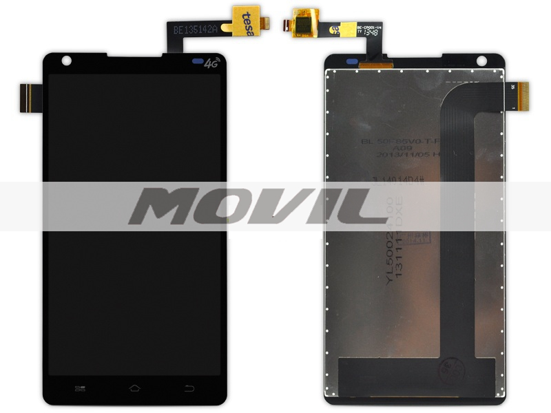 5 inch Coolpad 8736 LCD Display Screen Touch Digitizer Assembly