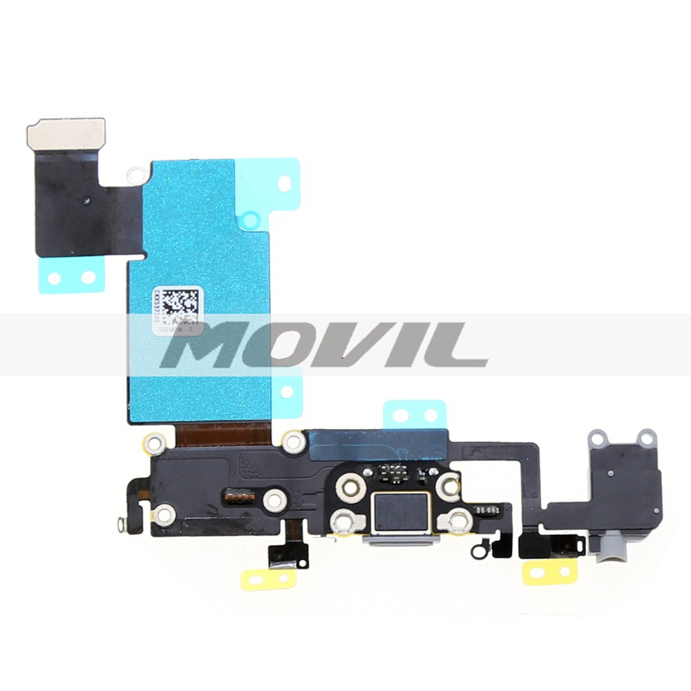 5.5 inch For Apple iphone 6s plus Dock Connector USB Charging Port Flex Cable with Headphone Jack Flex