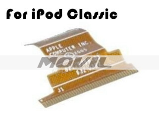 80GB 120GB ZIF Hard Drive Flex Cable Circuit Replacement Spare parts For iPod Classic iPod 6th