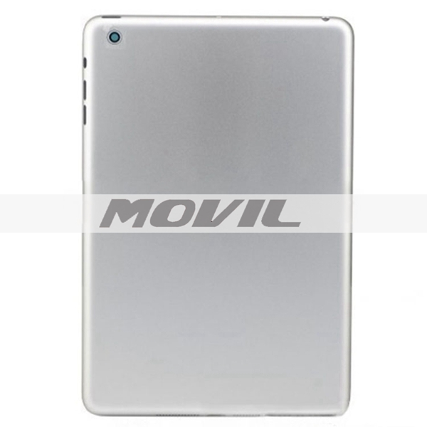 Apple ipad Mini 2 Wifi Version Aluminum Rear Cover Battery Door Back Housing Replacement With Logo BlackSilver Color