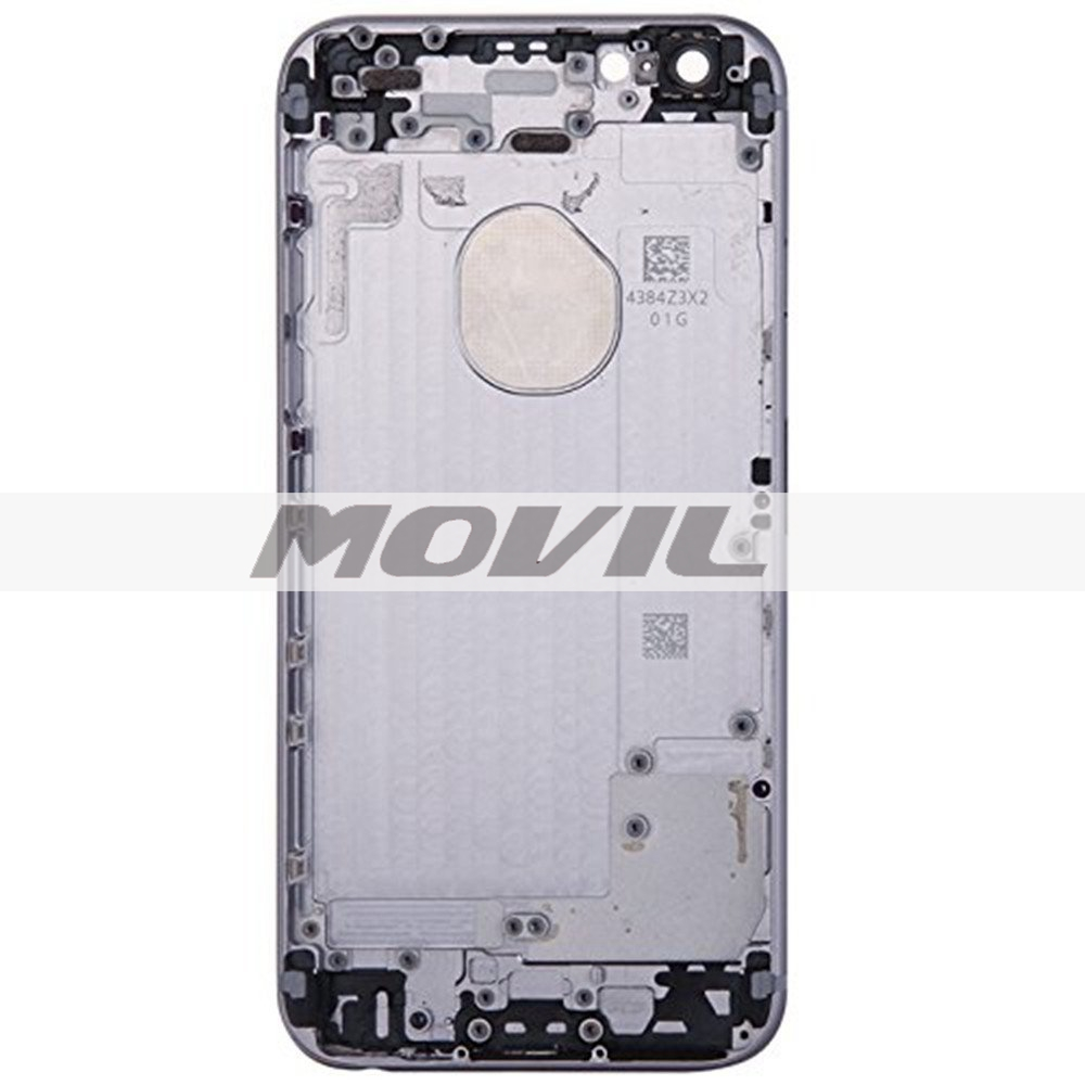 Back Cover Mobile Phone Housing Cell Phone Replacements for iPhone 6 4.7 inch - Gray with Gray Strap
