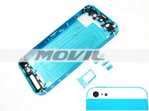 Battery Door for iPhone 5 5G Replacement Back Cover Housing blue