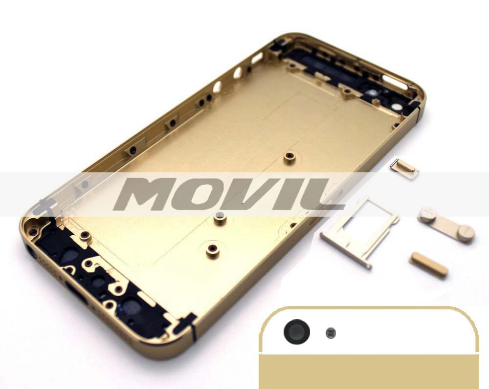 Battery Door for iPhone 5 5G Replacement Back Cover Housing glod