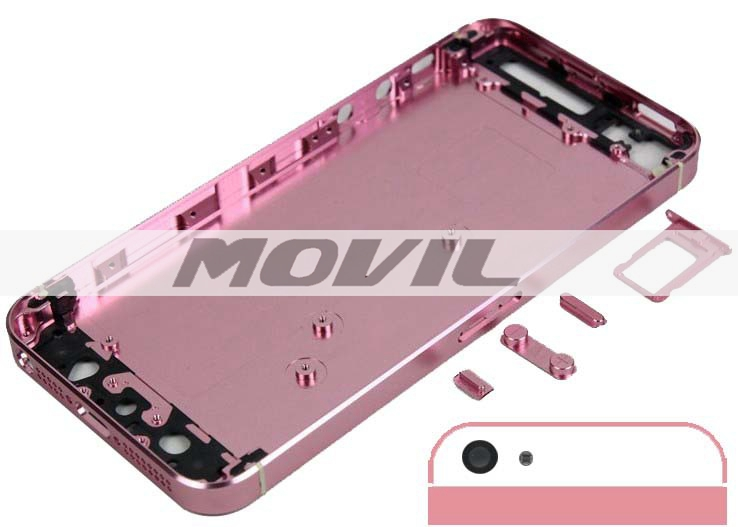 Battery Door for iPhone 5 5G Replacement Back Cover Housing pink