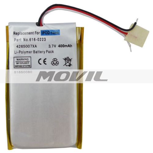Battery Replacement for iPod Nano 1 1st Generation