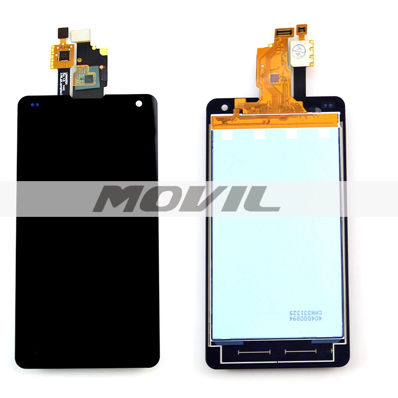 Black Color For LG Optimus G F180 LCD Display Touch Screen with Digitizer Assembly