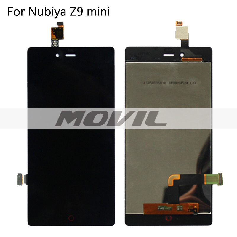 Black Color For ZTE Nubia Z9 mini NX511J LCD Display + Touch Screen Digitizer Assembly Replacement