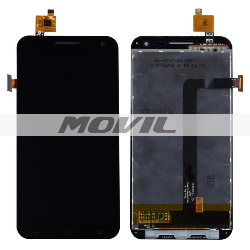 Black Color LCD Display + Digitizer Touch Screen Glass Assembly For ZOPO ZP 9520 ZP998