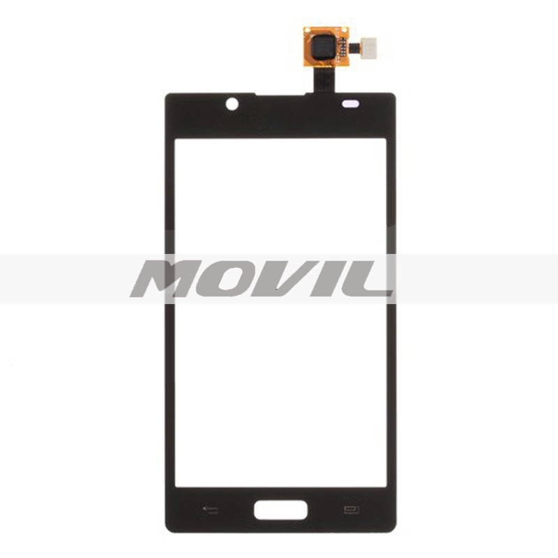 Black For LG P700  P705 Optimus L7 New Brand Touch Screen Digitizer Glass