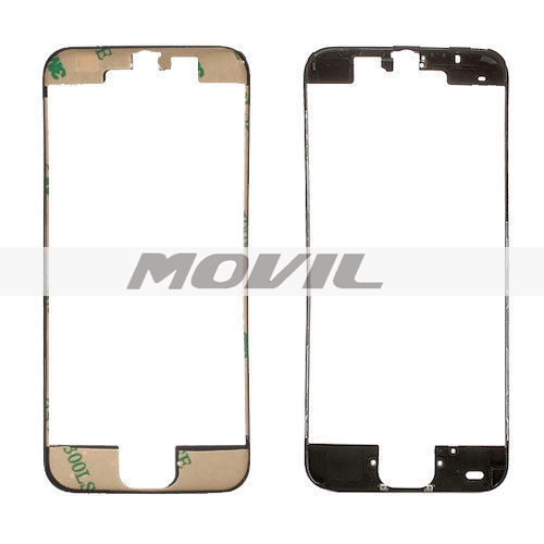 Black Frame Bezel Plastic Replacement Part for iPhone 5C LCD Screen Digitizer