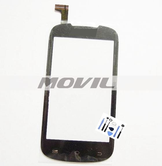 Black Front Outer Glass Touch Panel Digitizer Screen For Coolpad 5213