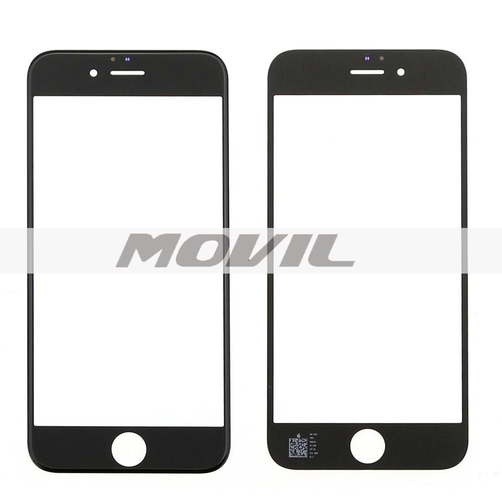 Black Front Screen For Apple iphone 6s 4.7 inch front glass lens with digitizer Replacement Repair parts