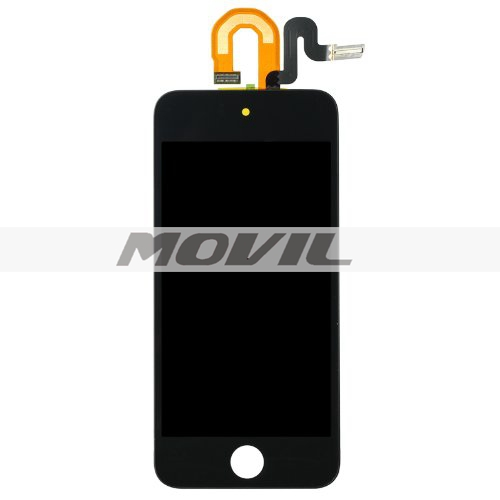Black LCD Display + Touch Glass Digitizer Screen Assembly replacement compatible with ipod touch 5 5th Gen