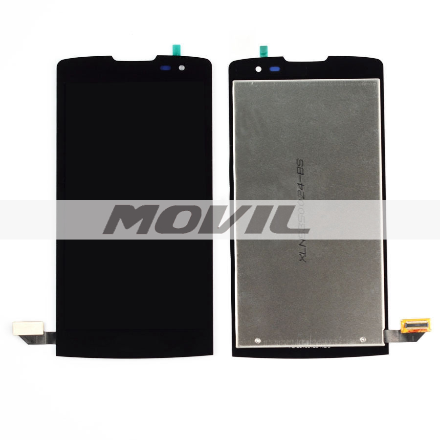 Black LCD Display + Touch Screen Digitizer Assembly Replacement For LG Leon H340  H340N