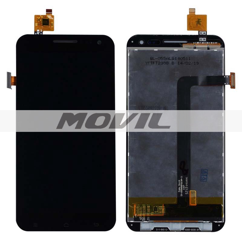 Black LCD Display + Touch Screen Digitizer Assembly Replacements FOR ZP999 ZP 999 3X