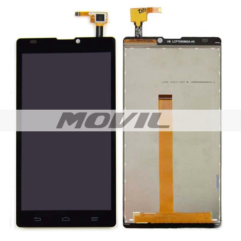 Black LCD Display + Touch Screen Digitizer Assembly Replacements For ZTE Blade L2