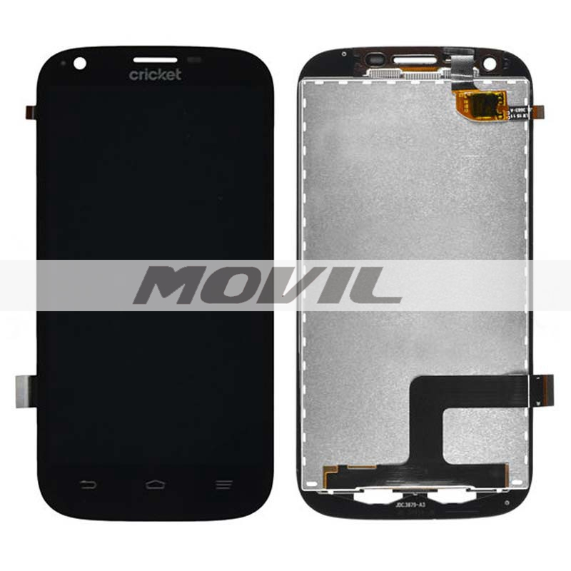 Black LCD Display + Touch Screen Digitizer Assembly Replacements For ZTE Grand X Z777
