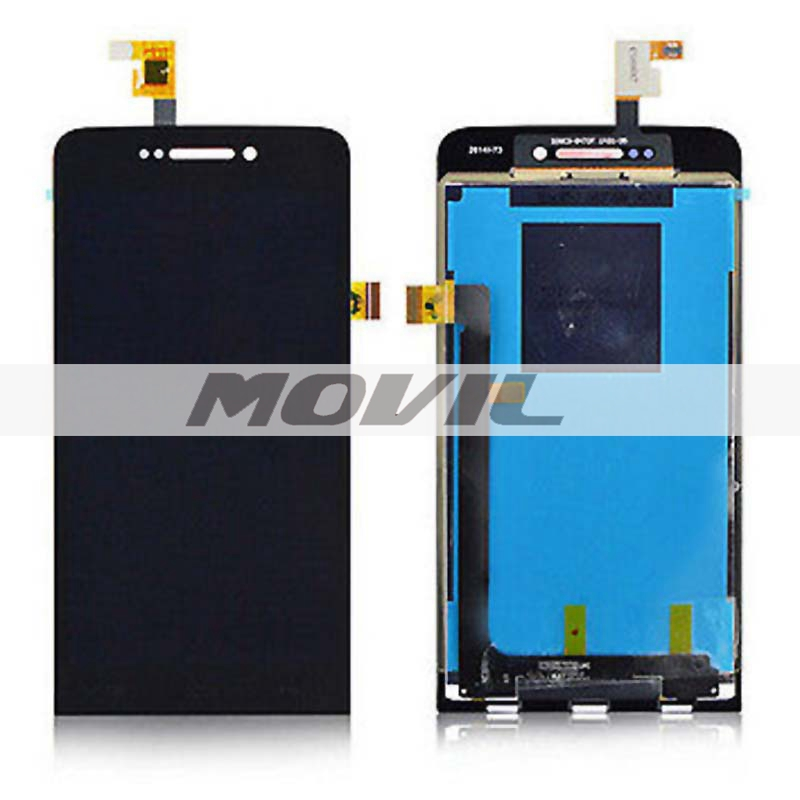 Black LCD Display + Touch Screen Digitizer Assembly Replacements For wiko wax