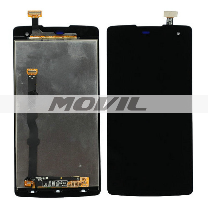 Black LCD Display with Touch Screen Digitizer Assembly for OPPO R2001