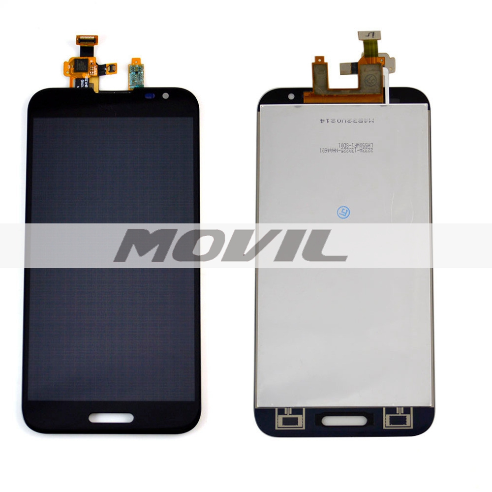 Black LCD display Touch Screen Digitizer Assembly Replacement For LG Optimus G Pro E980