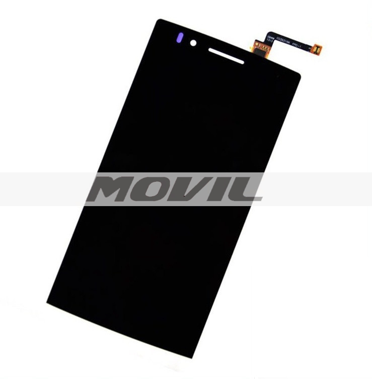 Black Lcd Display with touch screen digitizer Glass assembly +tools for OPPO Find 5 X909