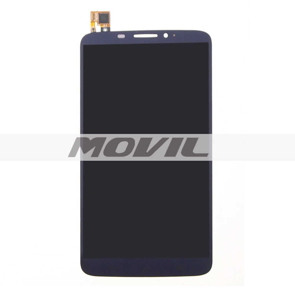 Black Lcd display touch screen digitizer assembly for Alcatel One Touch Hero 8020D OT8020