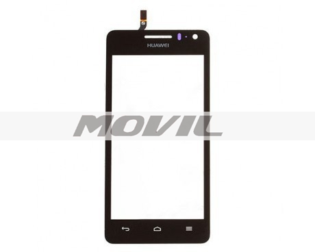 Black Outer Glass Lens Digitizer Touch Screen For Huawei Ascend G600 G615 U9508 U8950