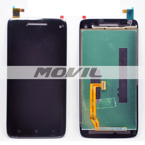 Black Touch Screen Digitizer + LCD Display Assembly Replacement FOR Lenovo S960