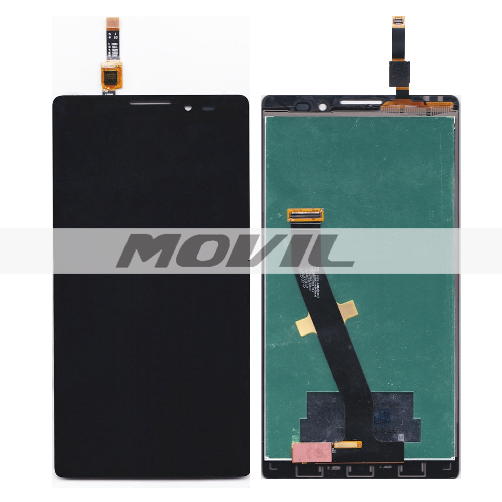 Black Touch Screen Digitizer + LCD Display Assembly Replacement FOR Lenovo VIBE Z K910 K910E