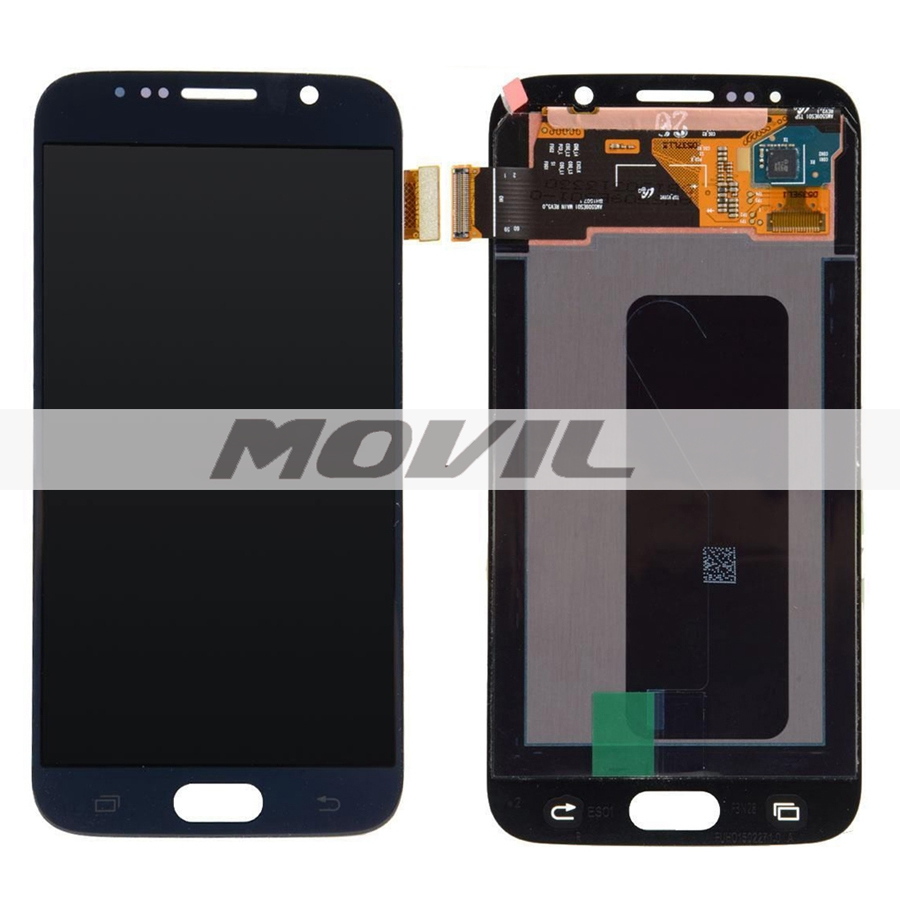 Black Touch Screen Digitizer + LCD Display Assembly Replacement FOR Samsung Galaxy S6 G9200 SM-G920 G920F