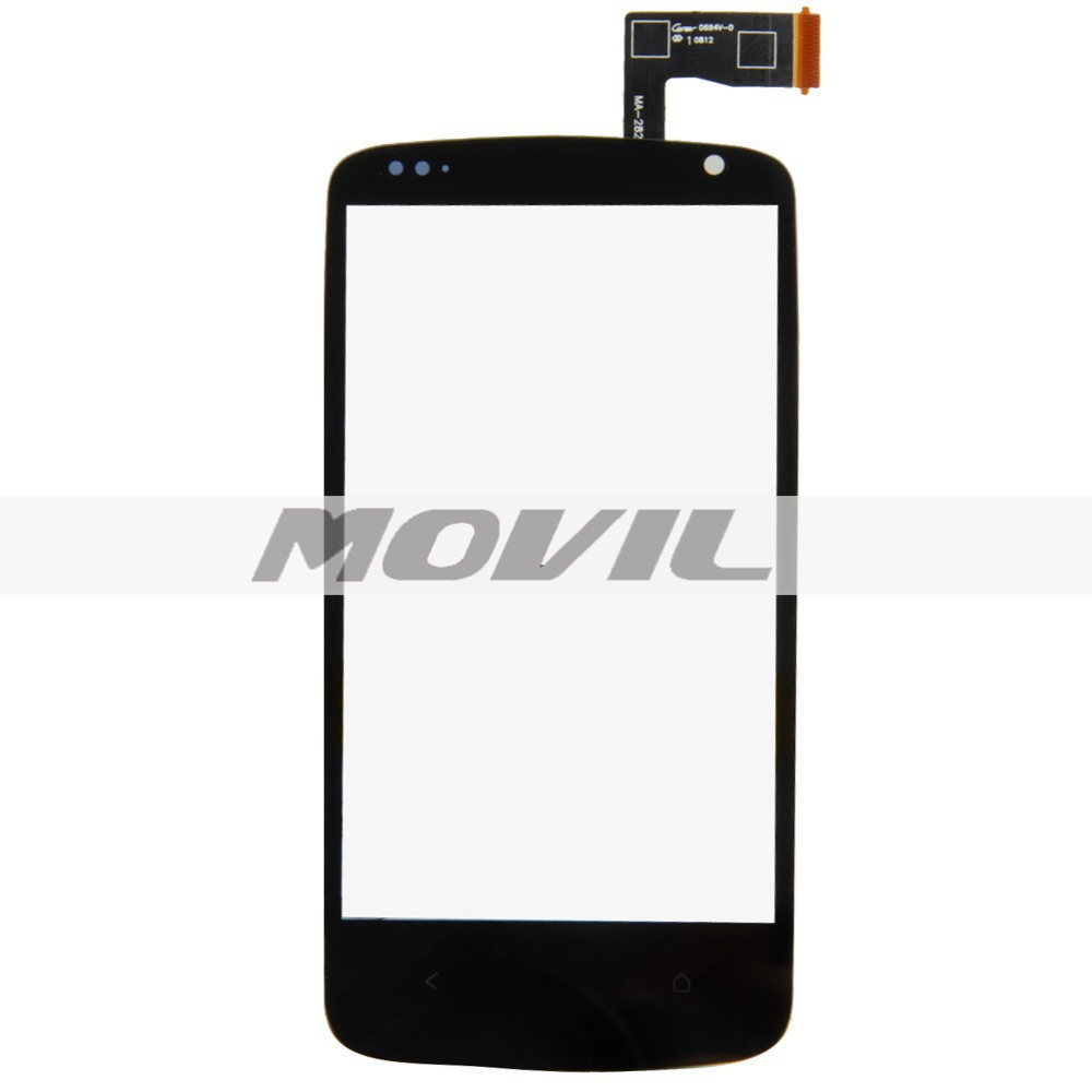 Black Touch Screen Digitizer with Home Button and IC Connector Assembly for HTC Desire 500 506e