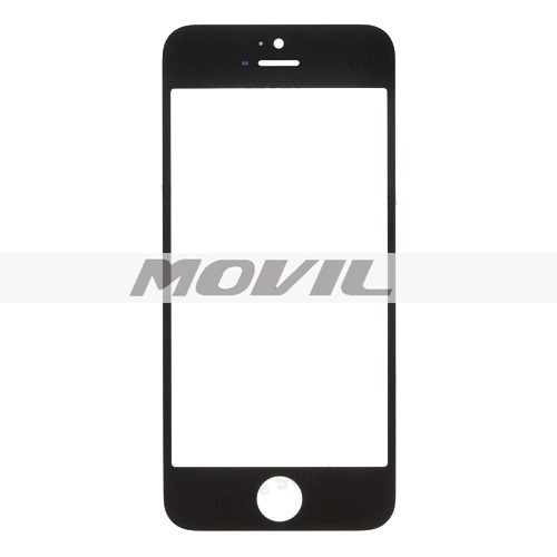 Black White Color Replacement Front Screen Outer Touch Screen Glass Lens Replacement Part for iPhone 5 5G
