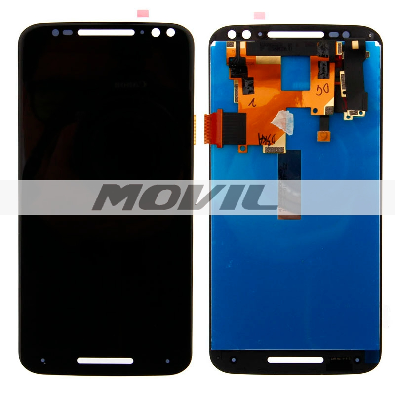 Black White LCD Display Touch Digitizer Glass For Motorola Moto X Style X3 XT1575 XT1572 XT1570