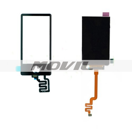 Black for iPod Nano 7th 7 Gen LCD Touch Screen Display Digitizer Replacement