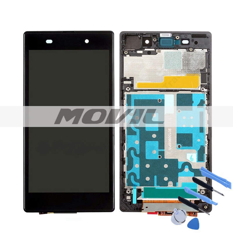 BlackWhite New LCD Display Screen For Sony Xperia Z1 C6902 C6903 C6906 L39H + Touch Digitizer Assembly