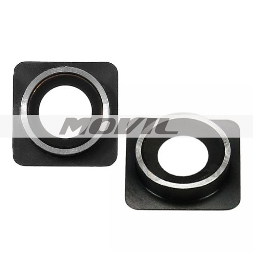 Camera Module Lens Ring Cover Replacement Black For iPhone 4 4G