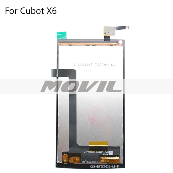 Cell Phone LCD Screen Replacement For Cubot X6 LCD Display With Touch Screen Digitizer