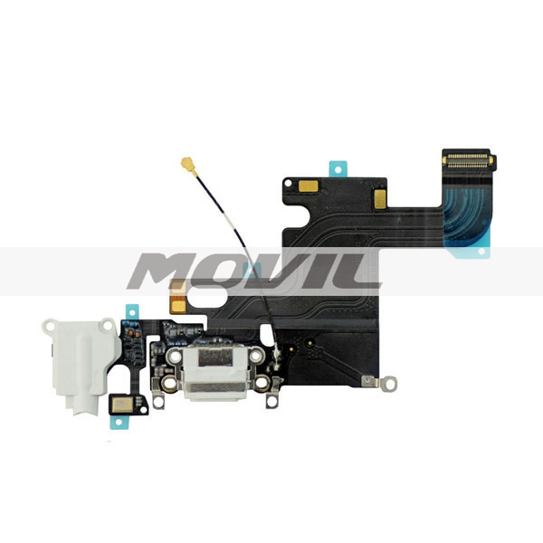 Charging Charger Port USB Dock Flex + Headphone Jack Mic Flex Cable Ribbon For iPhone 6 4.7