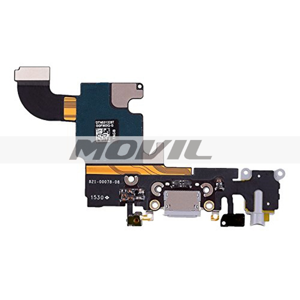 Charging Port USB Connector Dock Headphone Audio Jack Flex Cable Replacment for Iphone 6S Plus 5.5