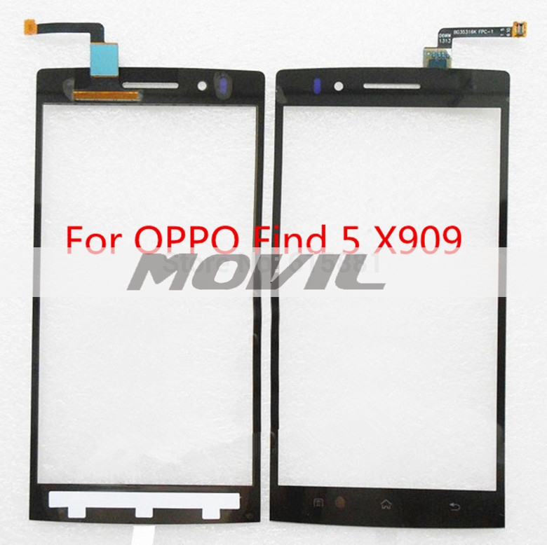Digitizer Touch Screen glass For OPPO Find 5 X909