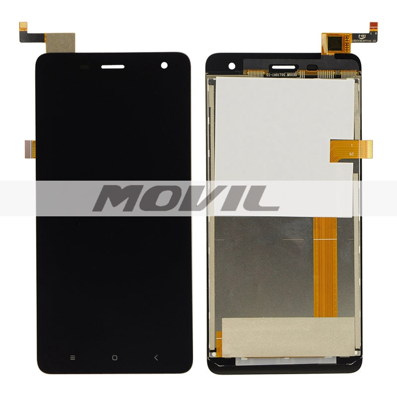 Doogee DG850 LCD Display with Touch Screen Digitizer Assembly Black White