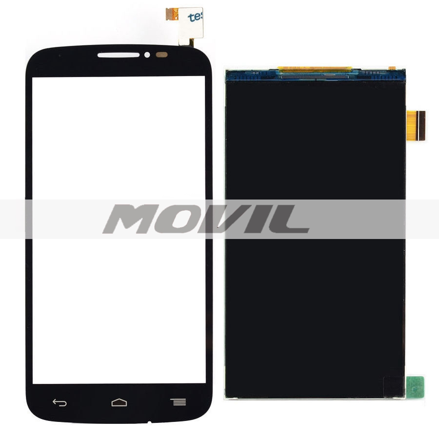 For Alcatel One Touch POP C7 7040 7040D 7040A 7041D Black Touch Screen Digitizer