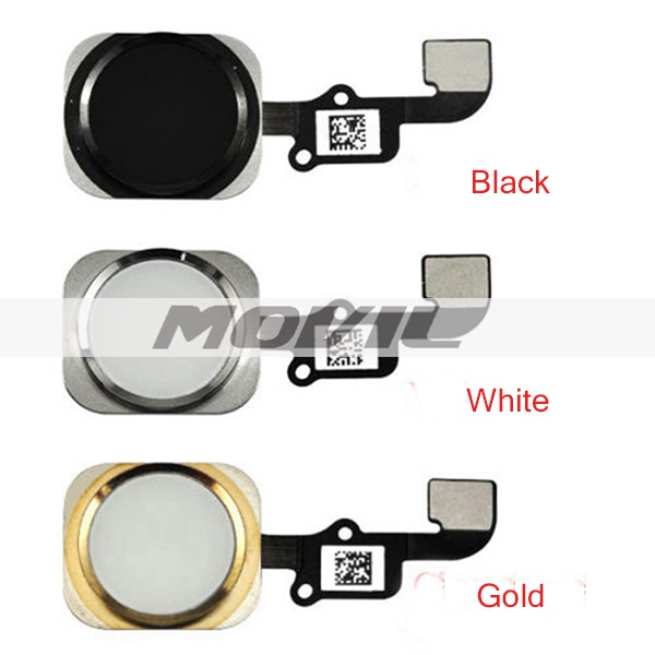 For Apple iphone 6 6G Home Button Flex Cable Ribbon Assembly Gold Black White