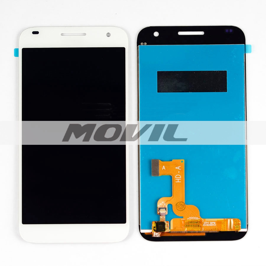 For Huawei Ascend G7 White Full LCD Display Screen Panel Monitor + Touch Screen Digitizer Glass Sensor Assembly