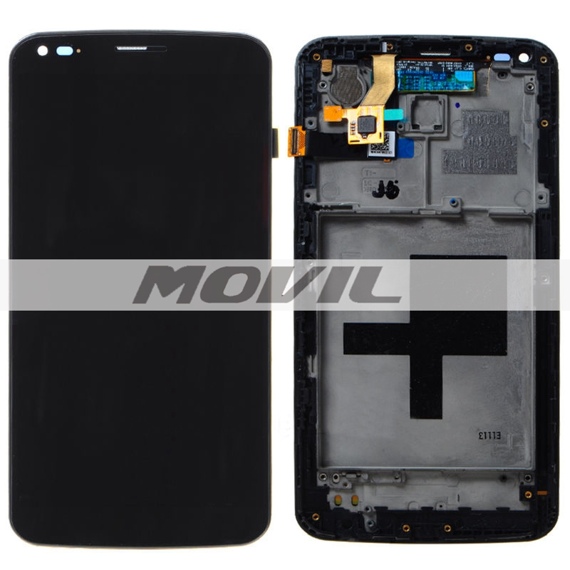 For LG G Flex D950 D955 D958 D959 F340 LS99 LCD display screenTouch digitizer Assembly with frame