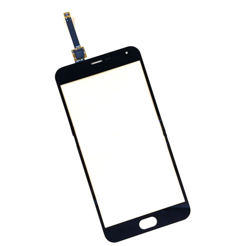 For Meizu M2 Note Original New Black Touch Screen Digitizer Glass Panel Lens Repair Replacement
