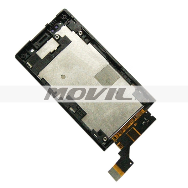 For Sony Xperia U ST25 ST25I Touch Screen Digitizer Glass Sensor + LCD Display Panel Screen Monitor Moudle Assembly