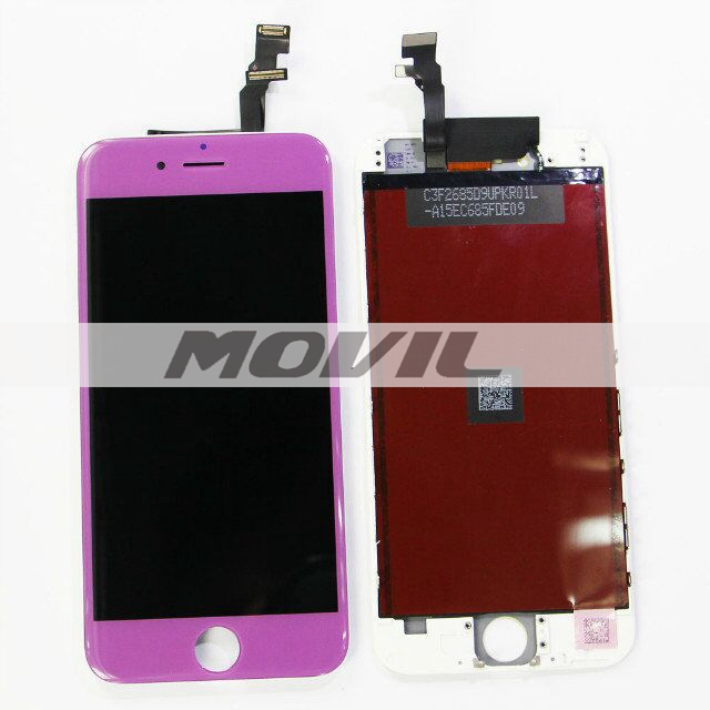 For iPhone 6 LCD display with touch screen digitizer assembly colorful purple